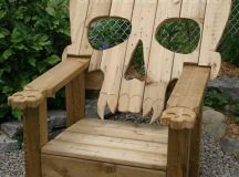 Reclaimed Pallet Adirondack Chairs | Pallet Wood Projects