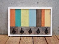 Wooden Pallet Coat Rack Ideas