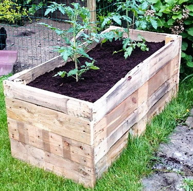 Diy Above Ground Garden Box