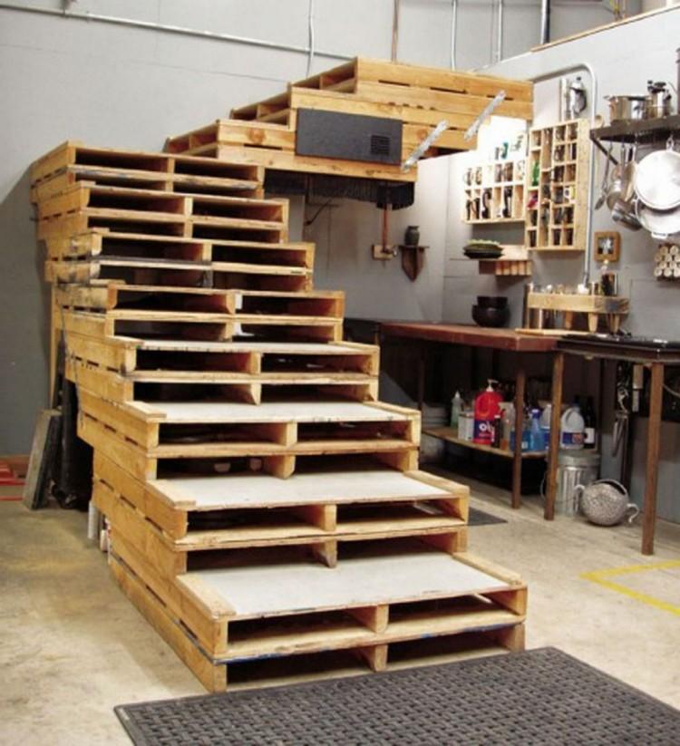 Image Result For How To Make Wooden Stairs