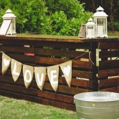 Portable Lawn Chairs Vintage High Recycled Pallet Wood Bar Ideas | Projects
