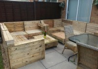 Pallet Patio Furniture Ideas | Pallet Wood Projects