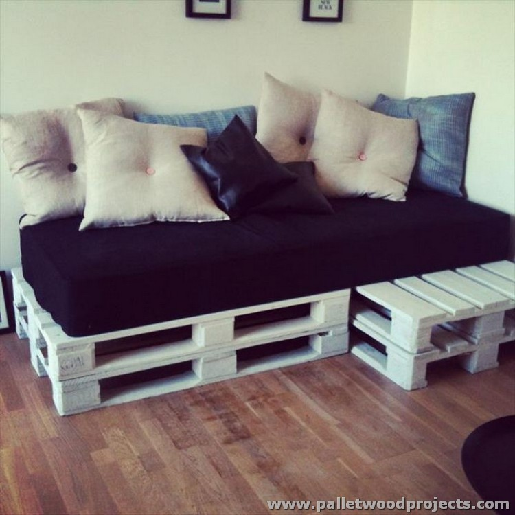 Recycled Pallet Sofa Ideas  Pallet Wood Projects