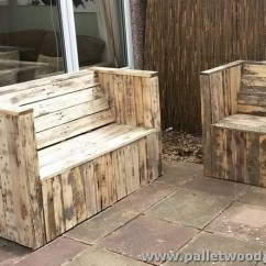 Chair Steel Base With Wheels Covers Outdoor Pallet Sofa Plans | Wood Projects