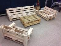 Pallet Patio Furniture Plans | Pallet Wood Projects