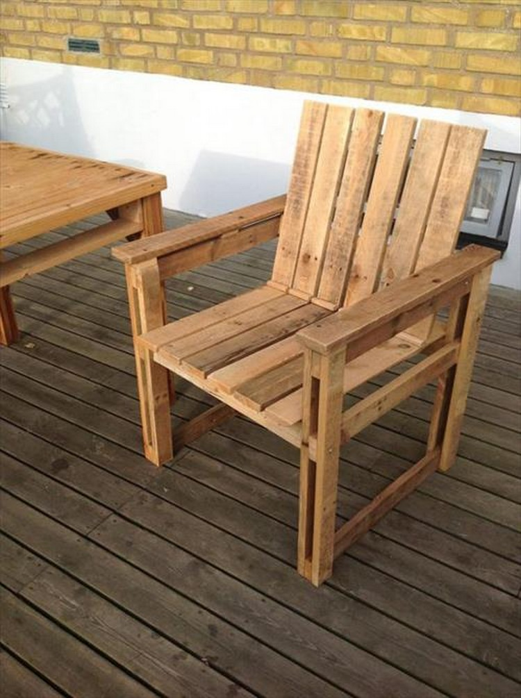 easy adirondack chair plans big lawn restful pallet wood chairs | projects