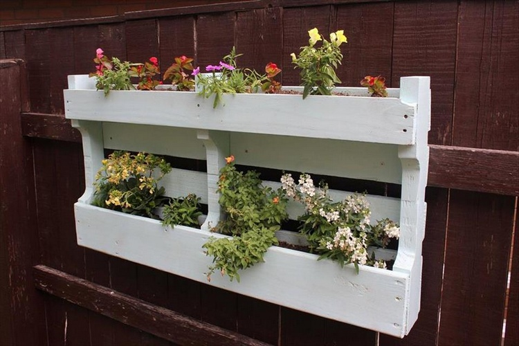 Brilliant Wood Pallet Planter Ideas  Pallet Wood Projects