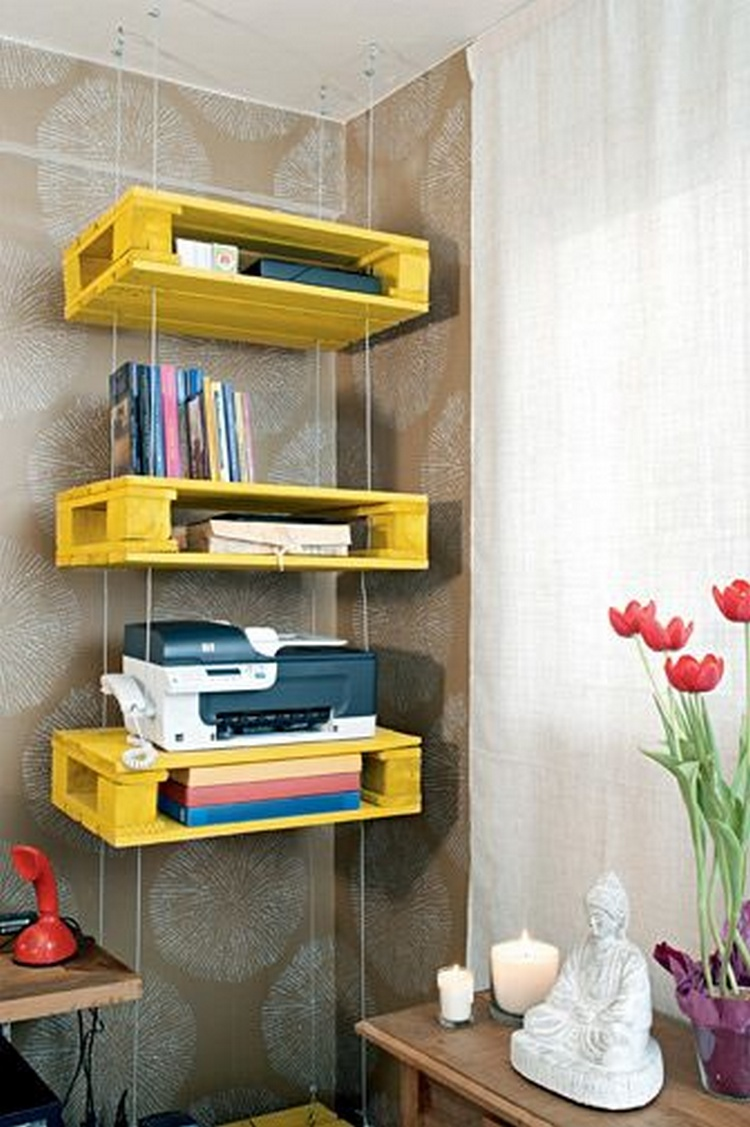 ideas for recycled pallet shelves for your kitchen