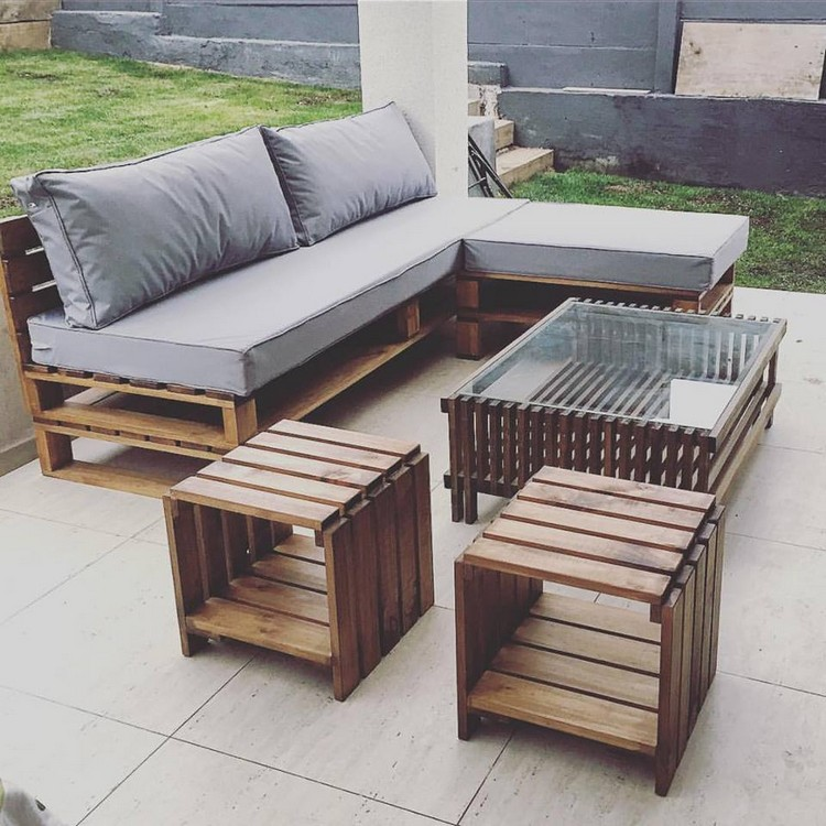 sofa bed philippines modern electric recliner dubai prepare amazing projects with old wood pallets | pallet ...