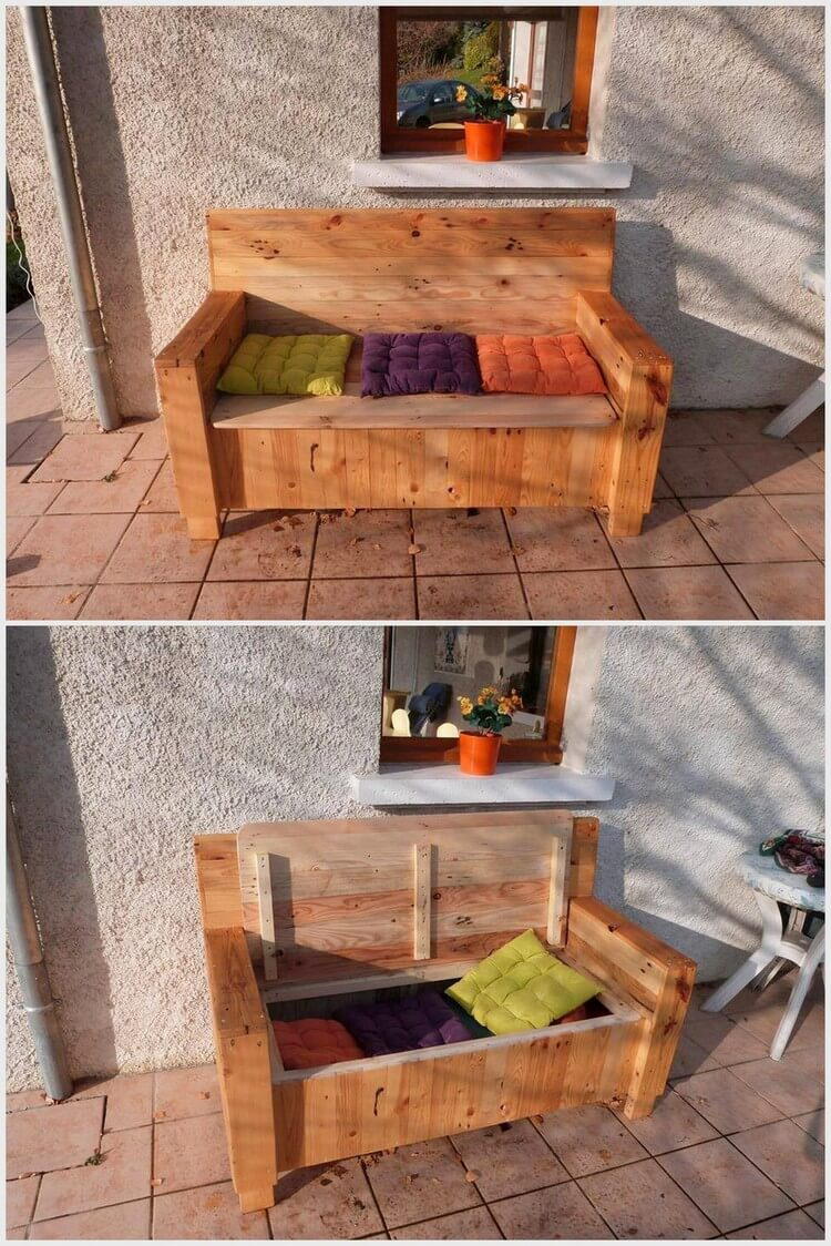 diy sofa from pallets rolf benz freistil 183 awesome ways to recycle old shipping | pallet wood ...