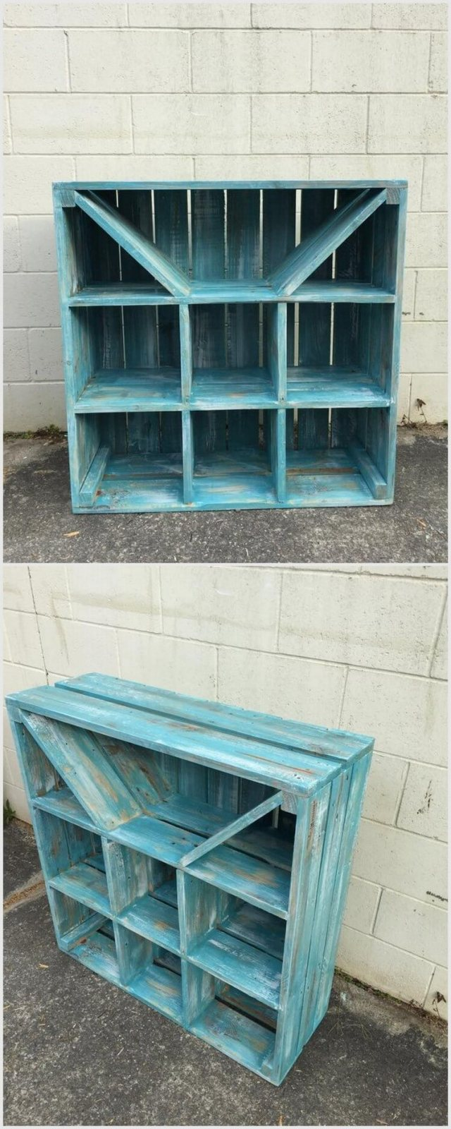 Recycled Wood Pallet Idea