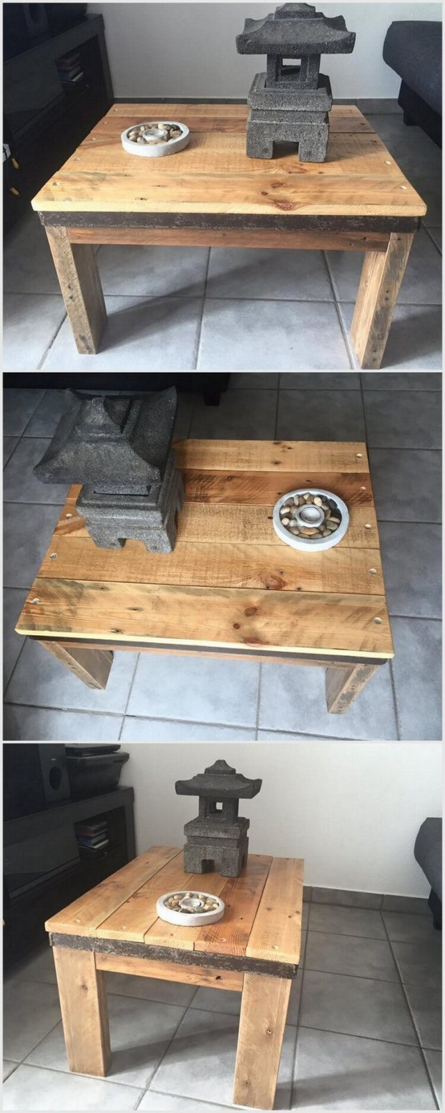 Shipping Wood Pallet Table