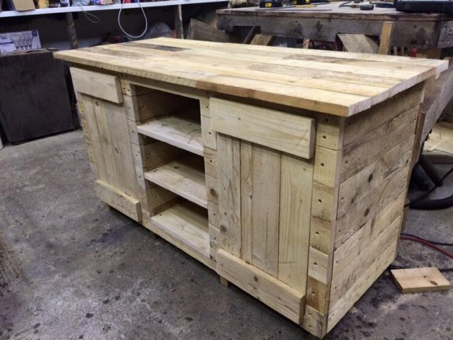 Wood Pallet Recycled Project