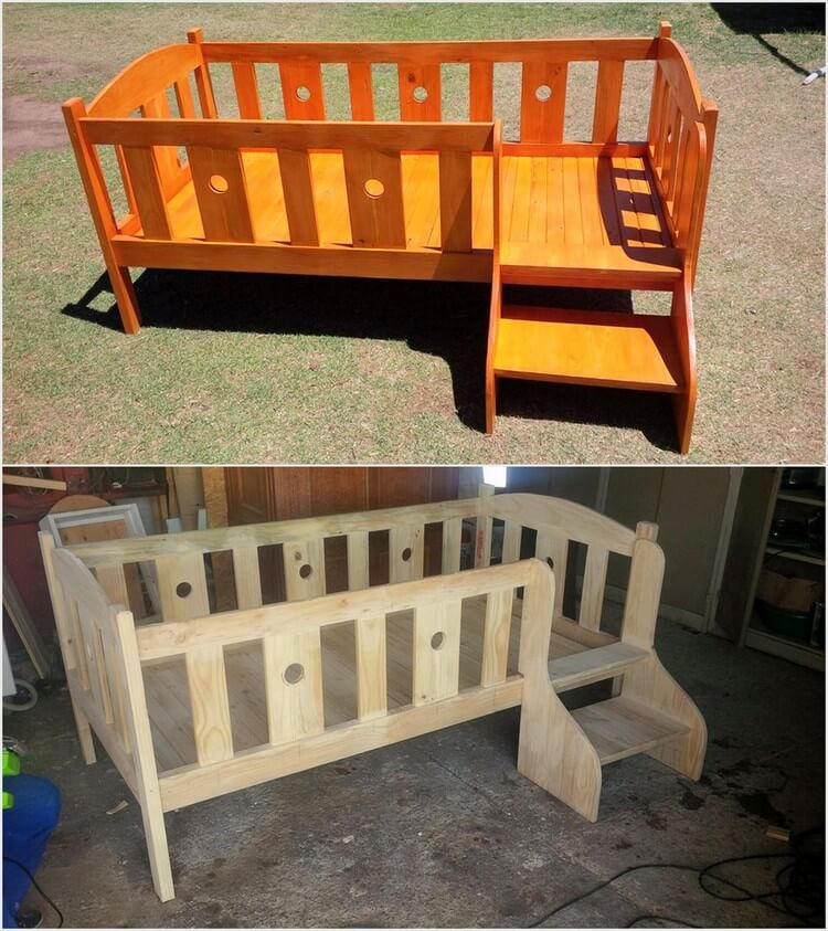 study table and chair for kids sling replacement fabric canada simple easy projects to recycle old wood pallets | pallet