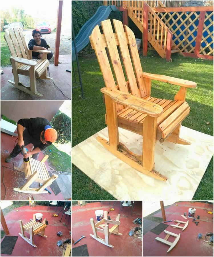 diy pallet rocking chair plans best affordable office chairs 2018 wood plan
