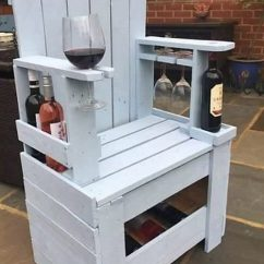 Chair Planter Stand Sams Folding Chairs Cheap Creations With Old Shipping Wood Pallets | Pallet Projects