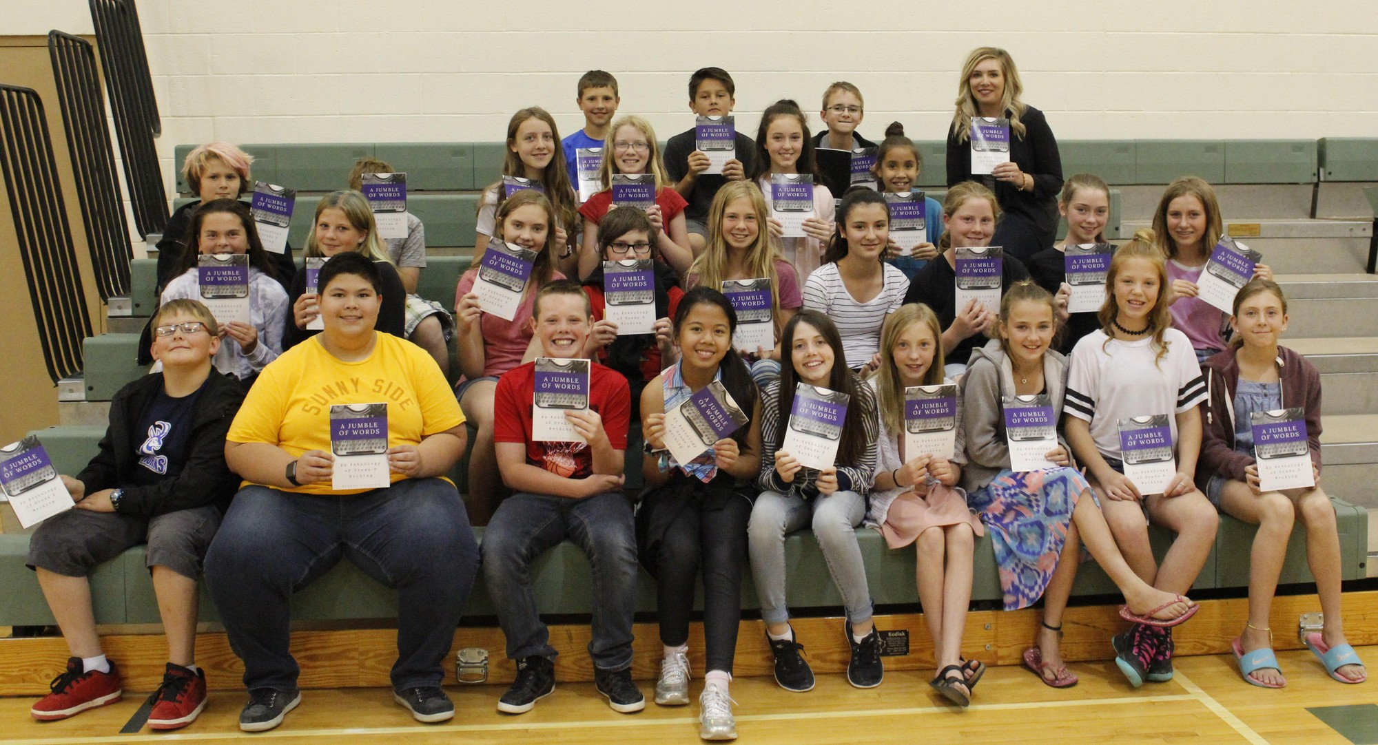 Grade 6 Students At R I Baker Are Published Authors