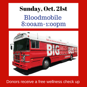 Bloodmobile at PCPC