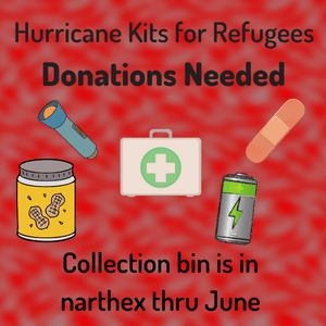 Hurricane Kits for Refugees
