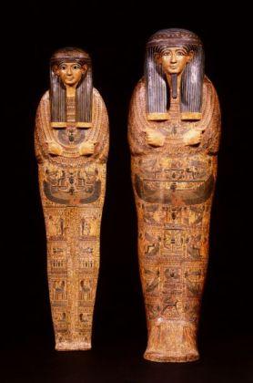 Cofre y momia Amenhotep. Tebas. 21 ª Dinastía (c. 1000 ac). Rijksmuseum van Oudheden, Leiden, Holanda