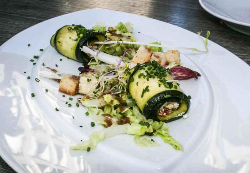 Zucchini & Chèvre Cannelloni, Le 46, Avignon