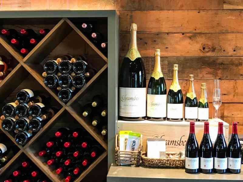 Schramsberg and Davies Vineyards Wines