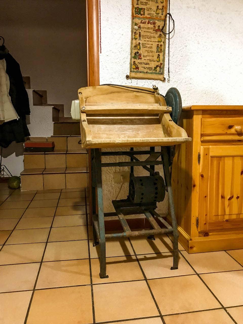 The Kneading Machine