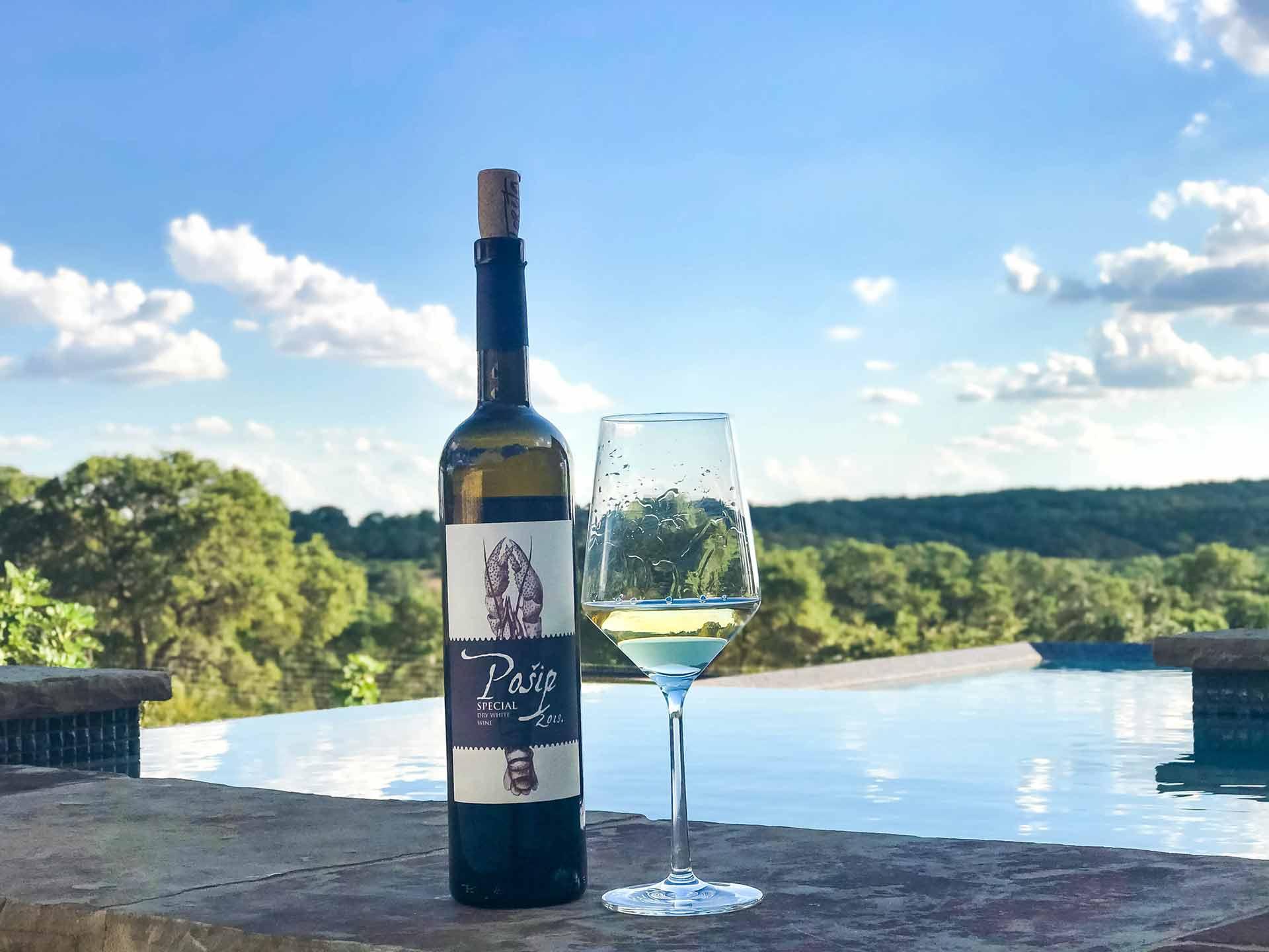 pošip, korčula, croatian islands, top dalmatian wines, www.zadarvillas.com