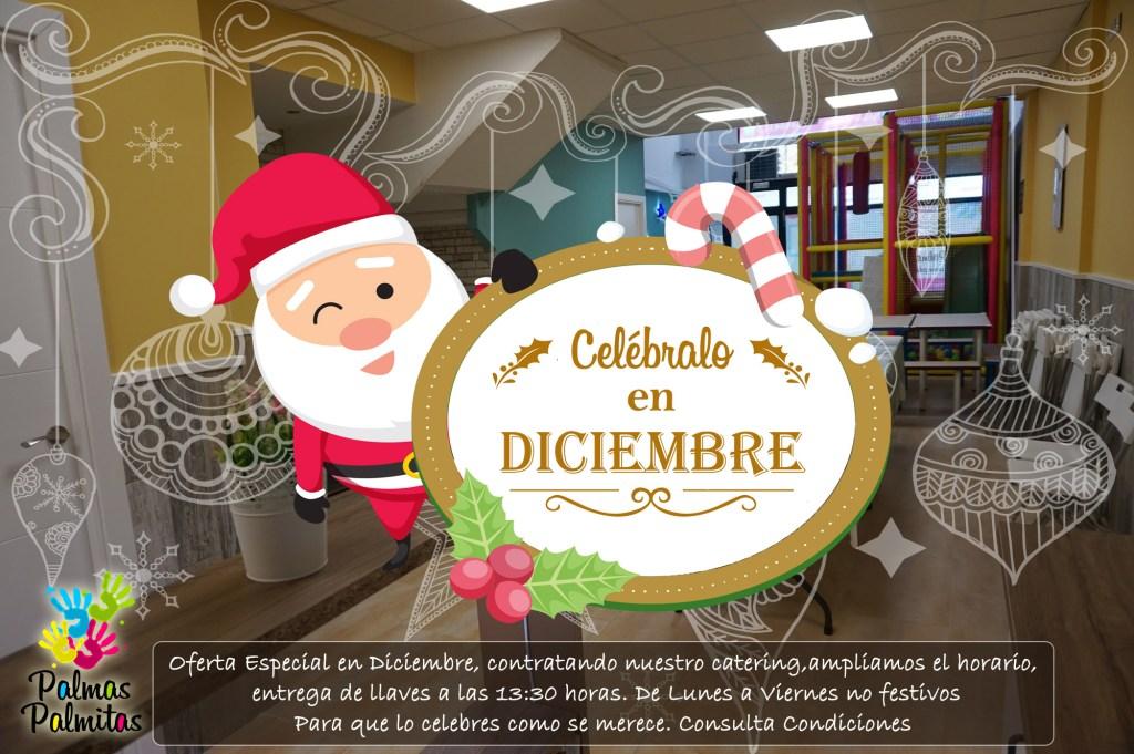 Oferta Alquiler Local Diciembre Fiestas de Navidad