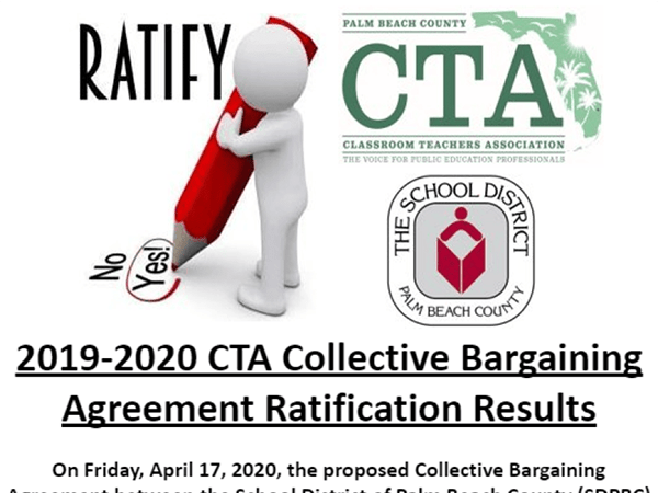 2019-2020 CTA Collective Bargaining Agreement Ratification Results​