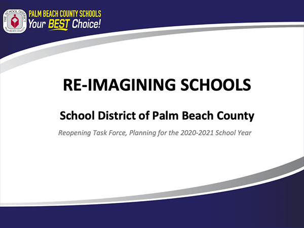 "SDPBC ""Reopening Task Force"" Outline Presentation"
