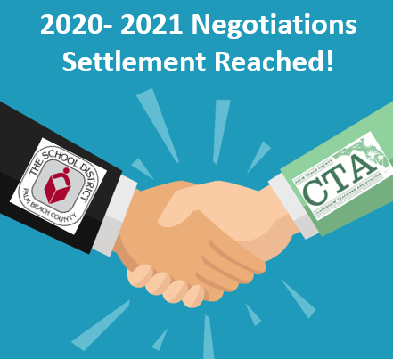 Salary negotiations between the CTA/SDPBC have concluded for the 2020-2021 school year.
