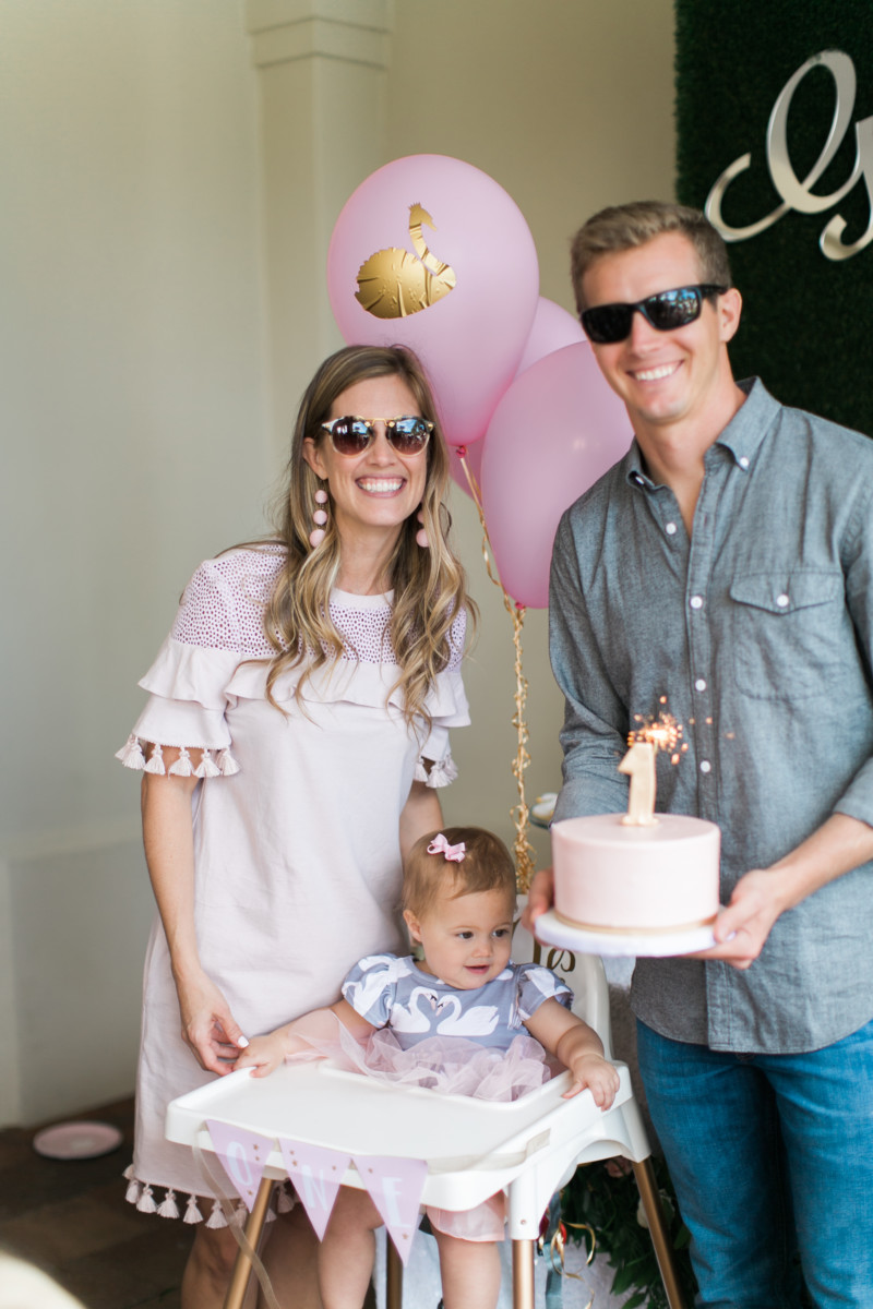 Swan Soire First Birthday Party  Palm Beach Lately