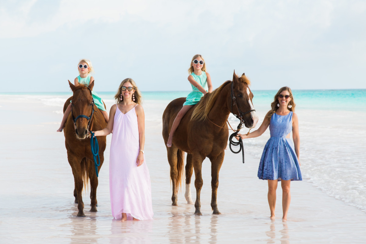Horseback Riding with Island Company on Harbour Island