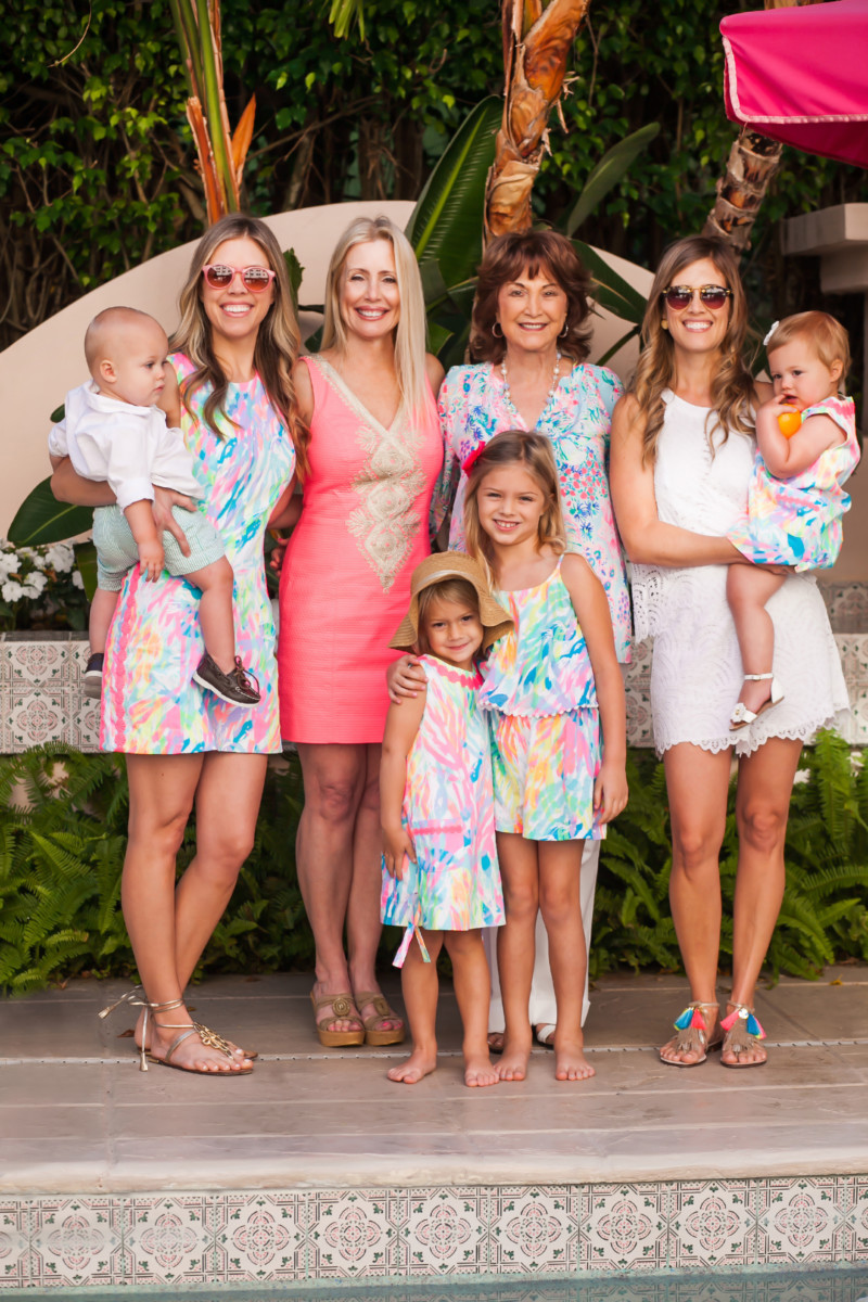 Mothers Day In Lilly Pulitzer Palm Beach Lately