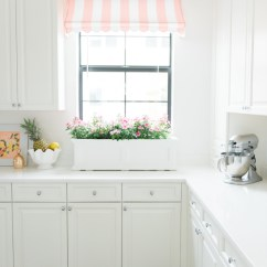 Pink Countertops Kitchen Sink Base Cabinet Home: Danielle's New Awnings | Palm Beach Lately
