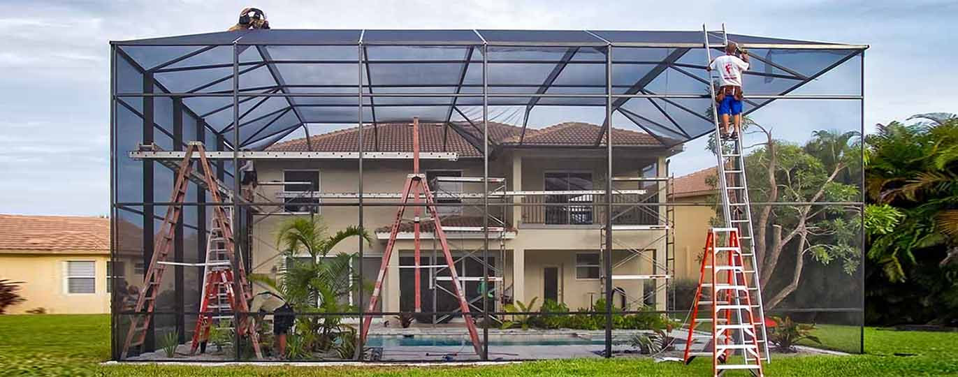 home palm beach pool screen enclosure