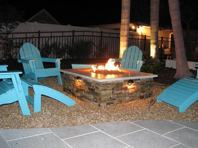 Fire Bowls and Fire Pits  Raszl Inc  Palm Coast Pool and Spa Builders