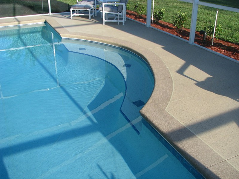 Swim Out Benches  Raszl Inc  Palm Coast Pool and Spa