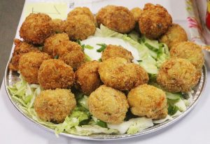 Palm Corned Beef Tater Tots Serve with Ranch