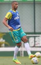 Cesar Greco/Ag.Palmeiras/Divulgação_Elenco palmeirense segue preparação visando clássico com São Paulo