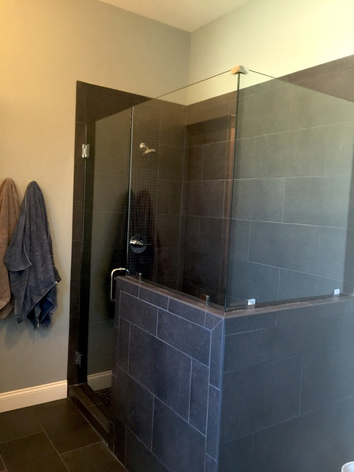 PDD design home downstairs bathroom shower