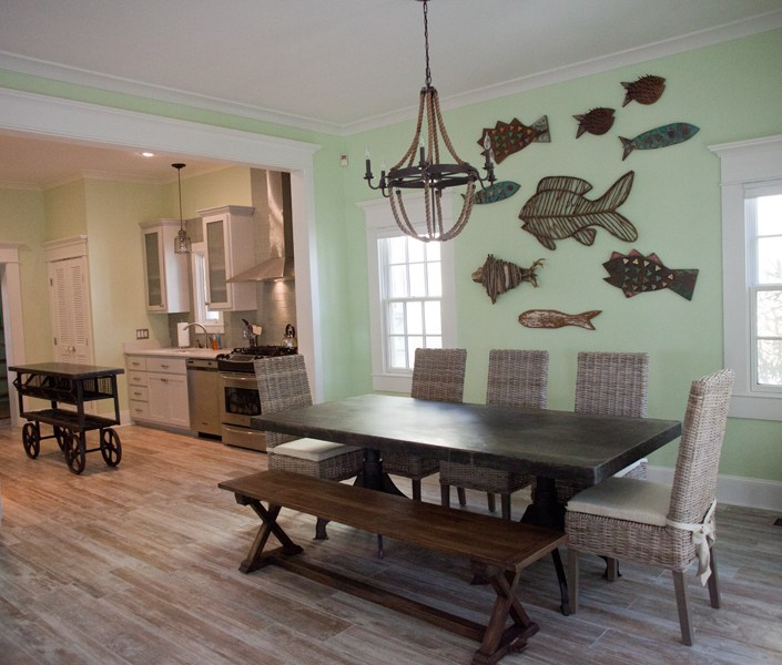 Nautical dining room design
