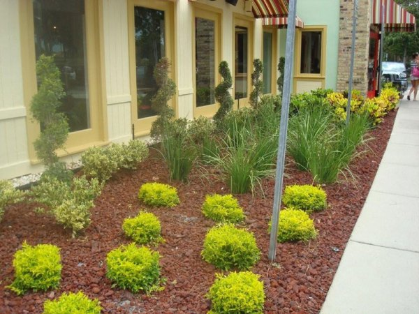 commercial landscaper business