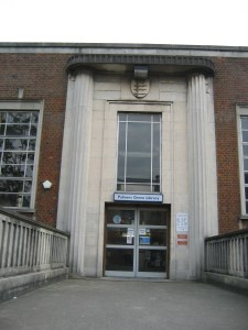 Stark and solid 1930s design - Palmers Green Library