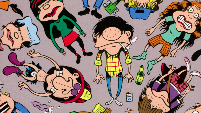 cover of peter bagge's hate collection buddy the dreamer featuring buddy bradley