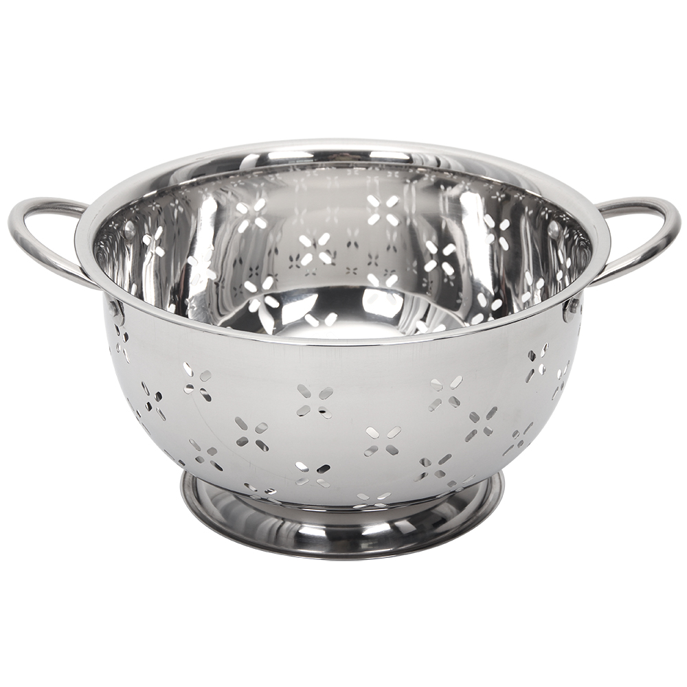 kitchen colander hood installation colanders strainers admin palmer wholesale your 5 qt stainless steel