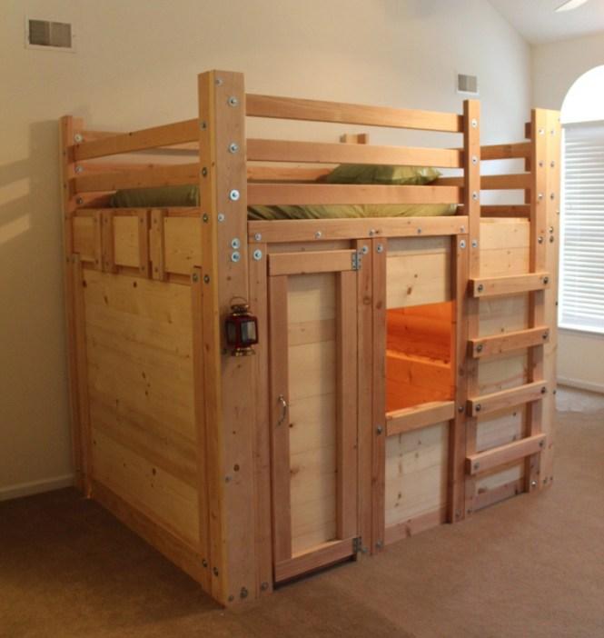 Bunk Bed Plans 10