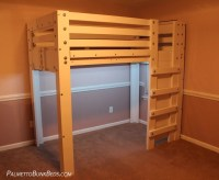 Twin Loft Bed Plan