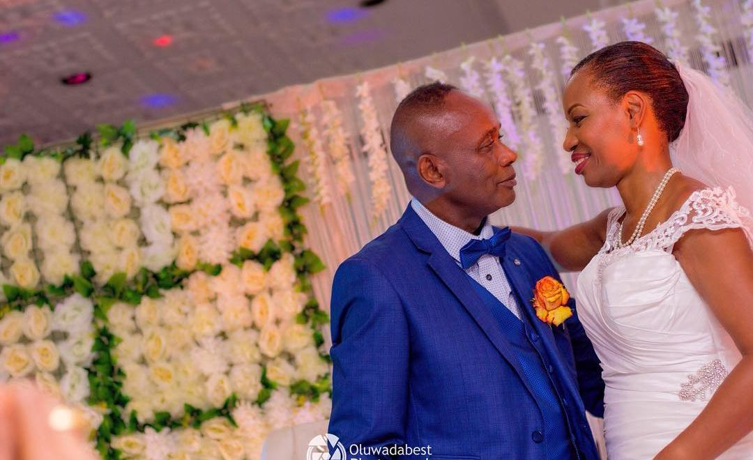 PHOTOS: Georgeous Nigerian Bride Marries For The First Time at 60